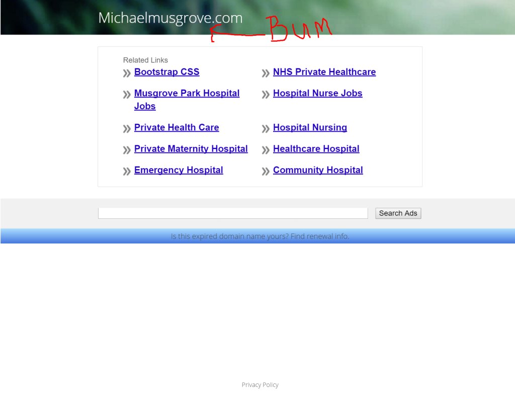 michaelmusgrove.com
